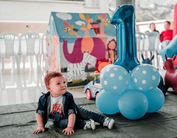 Présentation du ballon anniversaire surprise